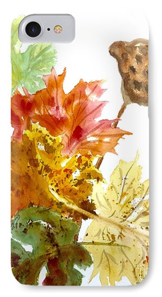Autumn Leaves Still Life IPhone Case