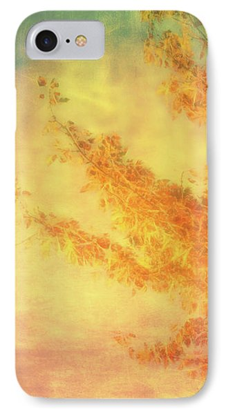 Autumn Leves Of Gold IPhone Case by Ann Powell