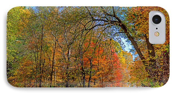 IPhone Case featuring the photograph Autumn Light by Rodney Campbell