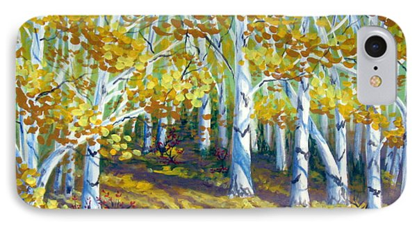Autumn Light Phone Case by Sharon Marcella Marston