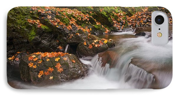 Autumn Litter IPhone Case by Mike  Dawson