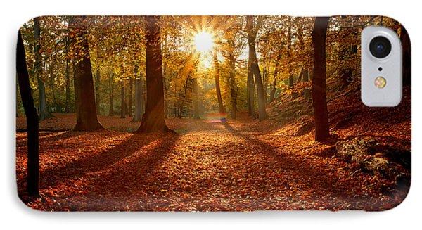 Autumn Magic IPhone Case by Roeselien Raimond