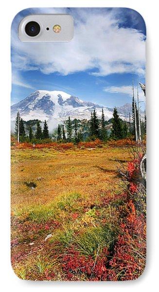 Autumn Majesty Phone Case by Mike  Dawson