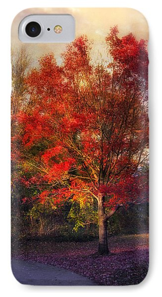 Autumn Maple Phone Case by Jessica Jenney