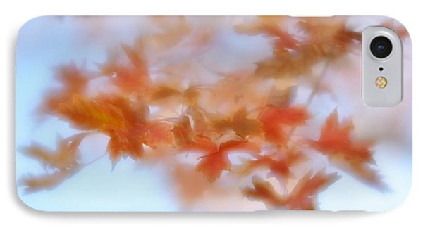 IPhone Case featuring the photograph Autumn Maple Leaves Soft by Diane Alexander