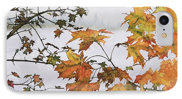 Autumn Maples IPhone Case by Carolyn Doe
