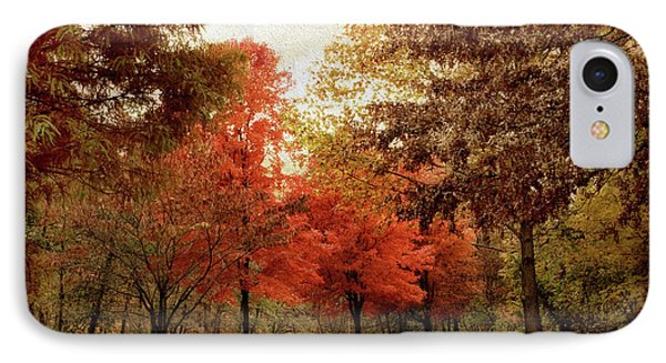 Autumn Maples IPhone Case by Jessica Jenney
