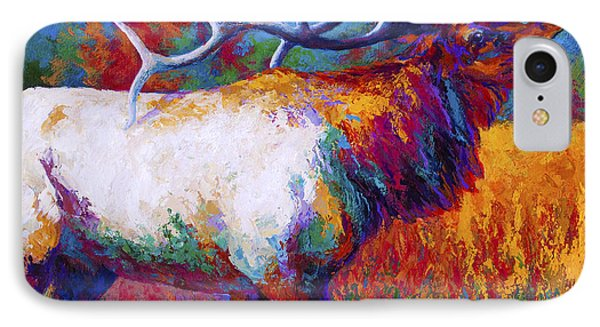 Cow iPhone 7 Case - Autumn by Marion Rose