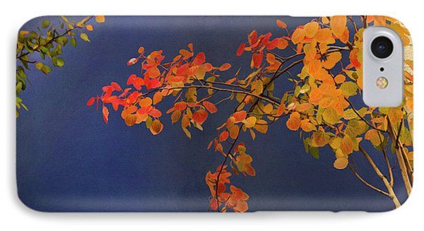 IPhone Case featuring the photograph Autumn Matinee by Theresa Tahara