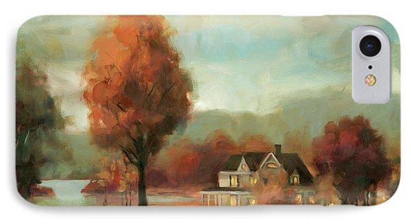 Geese iPhone 7 Case - Autumn Memories by Steve Henderson