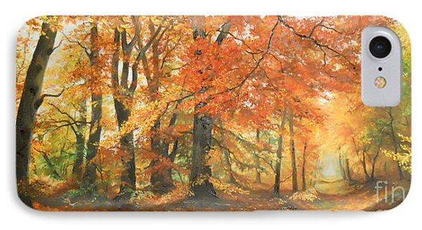 Autumn Mirage IPhone Case by Sorin Apostolescu
