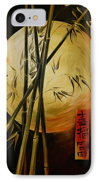 IPhone Case featuring the painting Autumn Moon by Dina Dargo