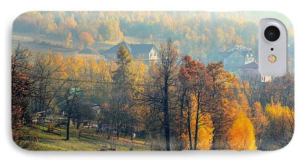 Autumn Morning IPhone Case by Henryk Gorecki