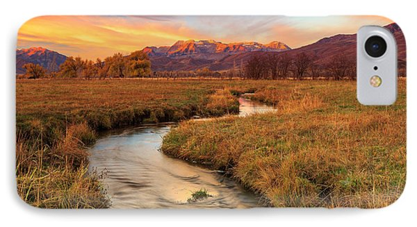 Autumn Morning In Heber Valley. IPhone Case by Johnny Adolphson