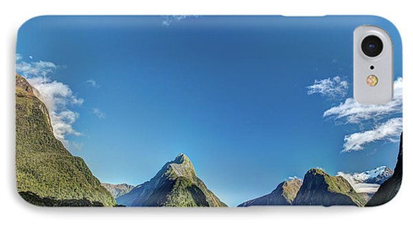 IPhone Case featuring the photograph Autumn Morning Milford Sound by Gary Eason