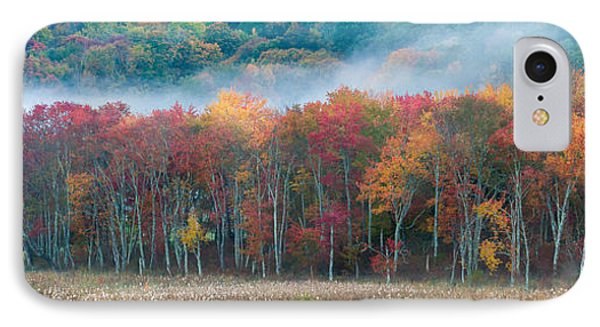 Autumn Morning Mist IPhone Case by Brian Caldwell