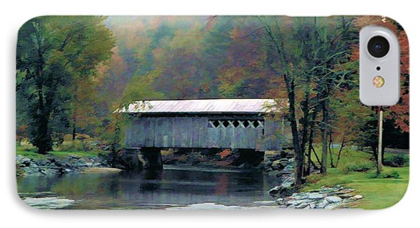 Autumn Morning Mist Phone Case by Dan Dooley