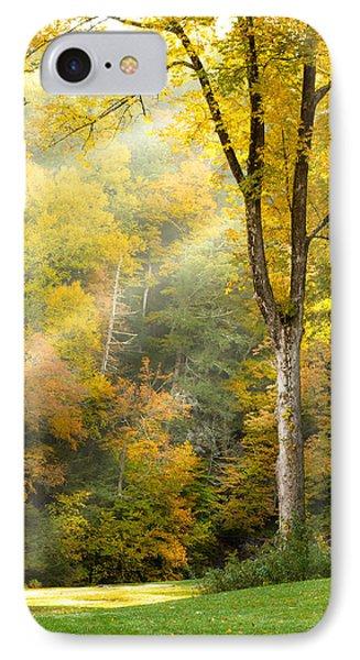 Autumn Morning Rays IPhone Case