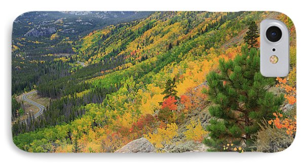 IPhone 7 Case featuring the photograph Autumn On Bierstadt Trail by David Chandler