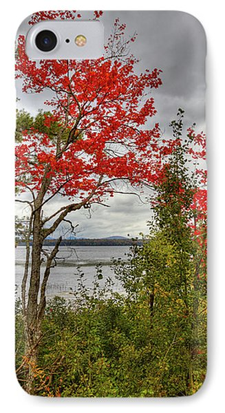 IPhone Case featuring the photograph Autumn On Raquette Lake by David Patterson