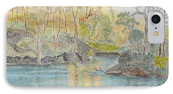 Autumn On The Ausable River IPhone Case