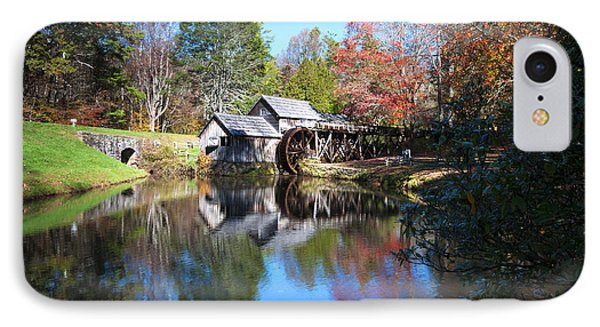 Autumn On The Blue Ridge Parkway At Mabry Mill IPhone Case