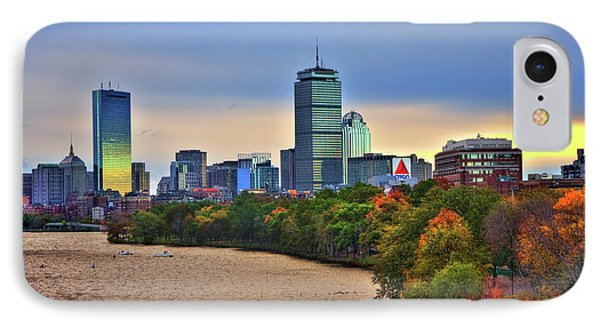Autumn On The Charles River - Boston IPhone Case by Joann Vitali