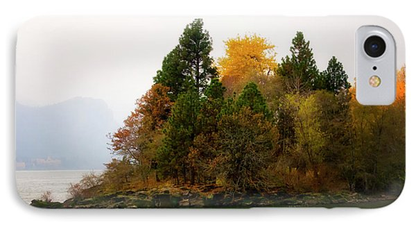 Autumn On The Columbia IPhone Case by Albert Seger