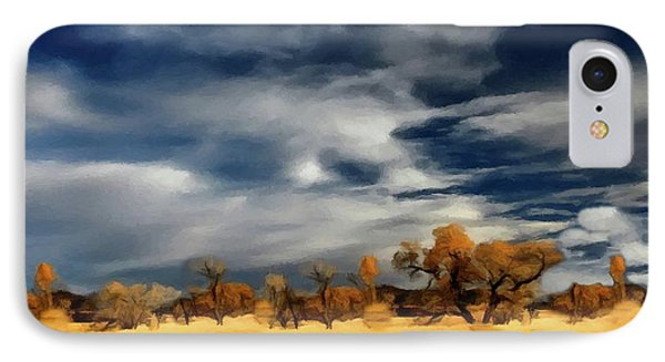 Autumn On The Edge Of The Great Plains  IPhone Case by David Dehner