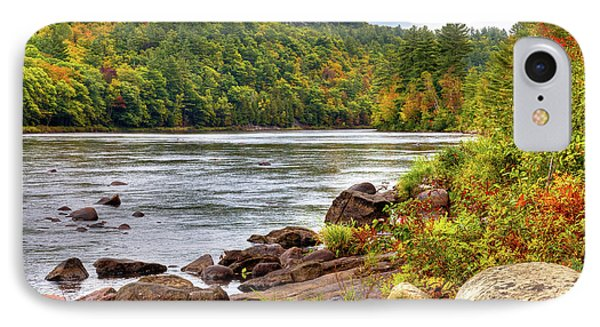 IPhone Case featuring the photograph Autumn On The Hudson River by David Patterson