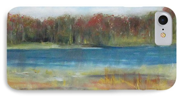 Autumn On The Maurice River IPhone Case