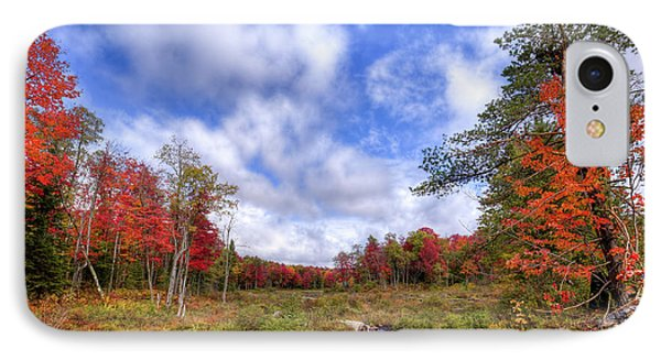 IPhone 7 Case featuring the photograph Autumn On The Stream by David Patterson