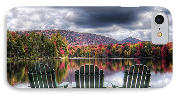 IPhone 7 Case featuring the photograph Autumn On West Lake by David Patterson