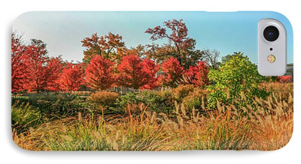 Autumn Panorama  IPhone Case by Garry McMichael