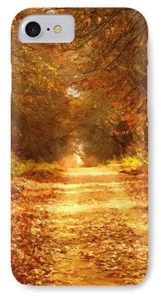 Autumn Paradisium IPhone Case