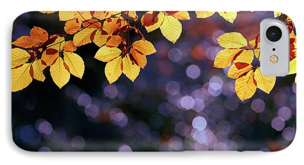 Autumn Party IPhone Case by Roeselien Raimond