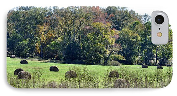 Autumn Pastures IPhone Case by Jan Amiss Photography