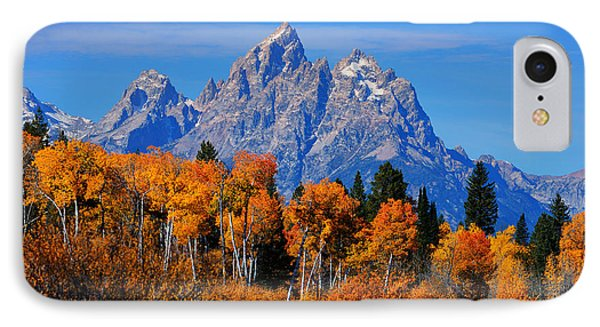 Autumn Peak Beneath The Peaks IPhone Case by Greg Norrell