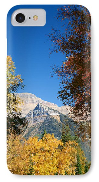 Autumn Peaks IPhone Case