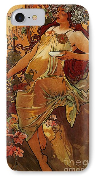 Autumn IPhone Case by Pg Reproductions