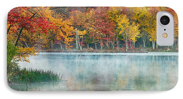 Autumn Pond IPhone Case by Brian Caldwell