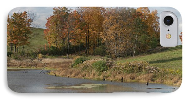 IPhone Case featuring the photograph Autumn Pond by Joshua House