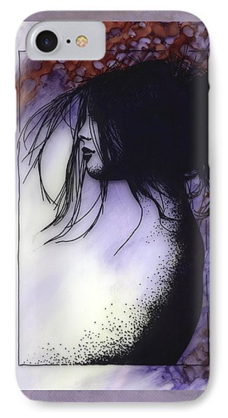IPhone Case featuring the painting Autumn by Ragen Mendenhall