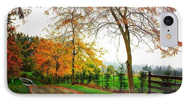 Autumn Rains IPhone Case