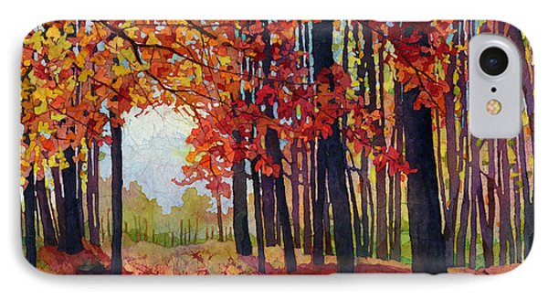 Autumn Rapture IPhone Case by Hailey E Herrera