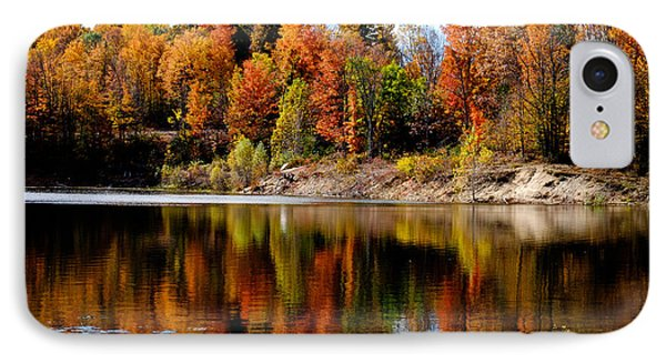 Autumn Reflected IPhone Case by John McArthur