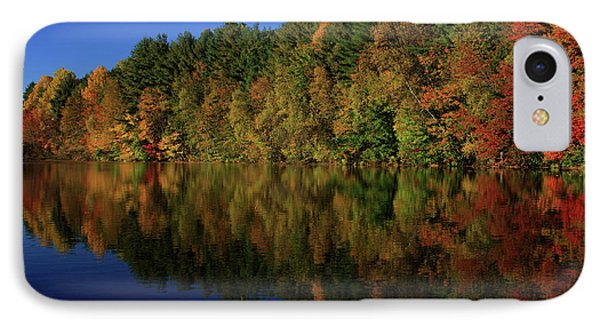 Autumn Reflection Of Colors Phone Case by Karol Livote