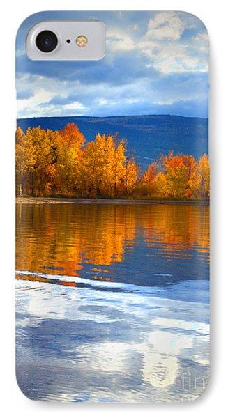 Autumn Reflections At Sunoka Phone Case by Tara Turner