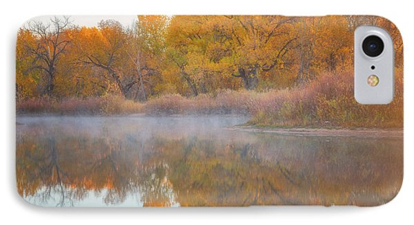 Autumn Reflections IPhone Case by Darren White