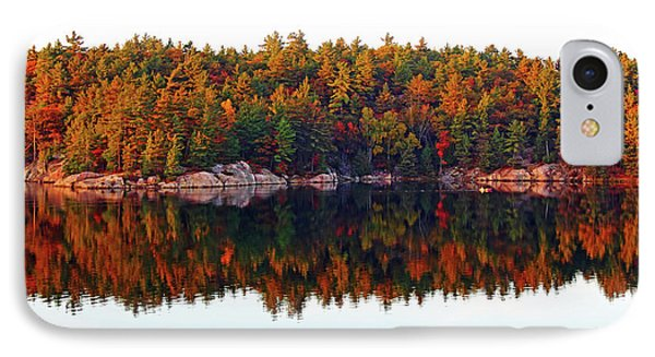 IPhone Case featuring the photograph   Autumn Reflections by Debbie Oppermann